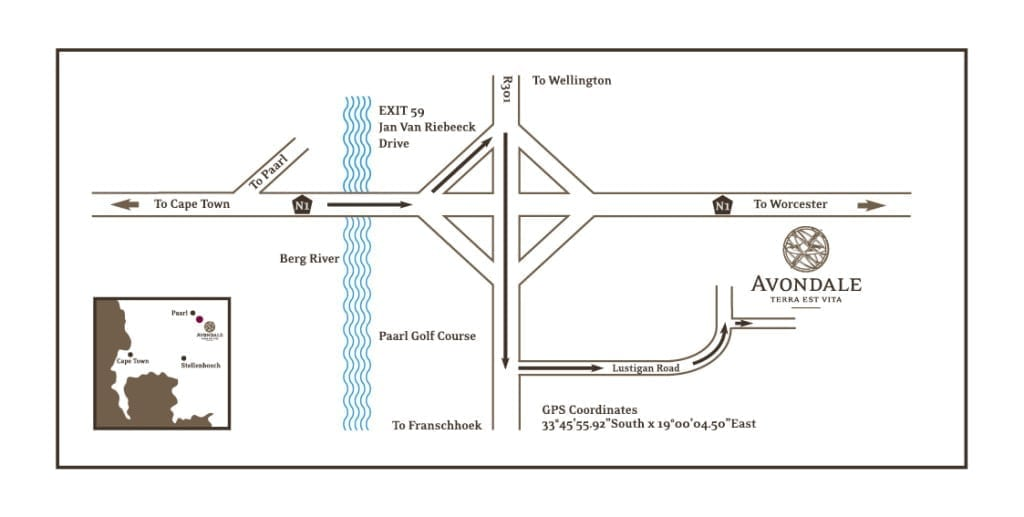Avondale Map