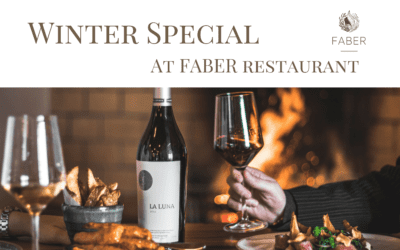Winter Special – 1 May till 31 August 2019