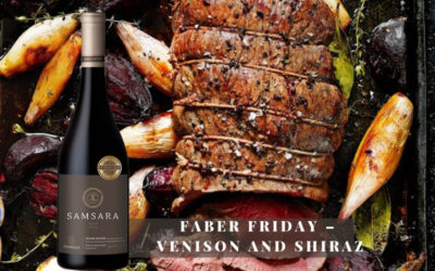 FABERFriday: Venison and Shiraz – 3 May to 24 June 2019