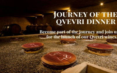 Journey of the Qvevri Dinner – 1 June 2019